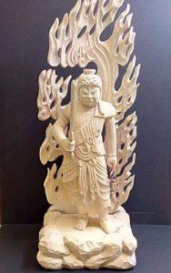 不動明王立像(像高:21.5cm)