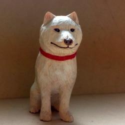 犬の花子(高さ10cm)