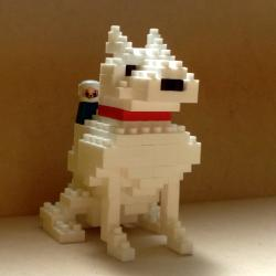 犬の花子(ダイヤブロック)