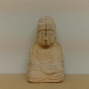 仏像の彫り方(小造り1)