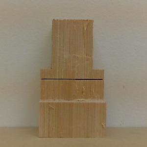 仏像の彫り方(木取)