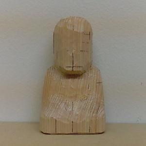 仏像の彫り方(荒彫り)