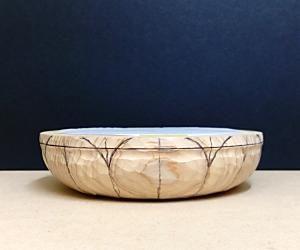蓮弁の彫り方(蓮弁を描く)