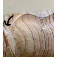 蓮弁の彫り方(一段目も丸刀で整える)