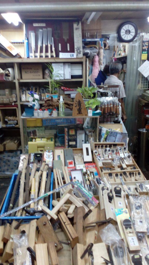 大阪日本橋 大工道具の清重商店