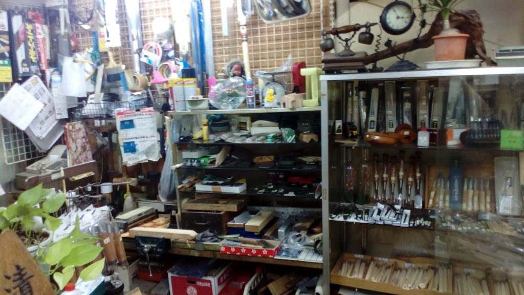 大阪日本橋 大工道具の清重商店(昭和の雰囲気)