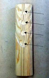 翻波式の彫り方(丸刀でを彫る)