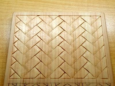 檜垣の木彫り完成