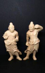 仁王像(高さ17cm)