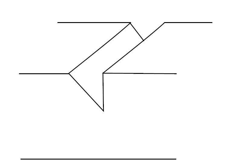キワ刀一本で線を彫る_過程4-1